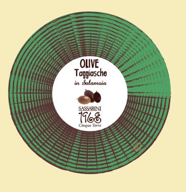 Olive Taggiasche 300gr