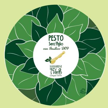 Pesto senz'aglio 90gr/ 180gr